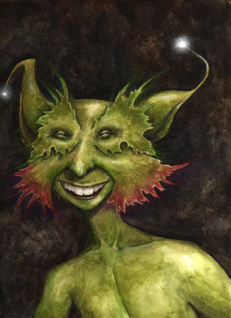 Springtime goblin